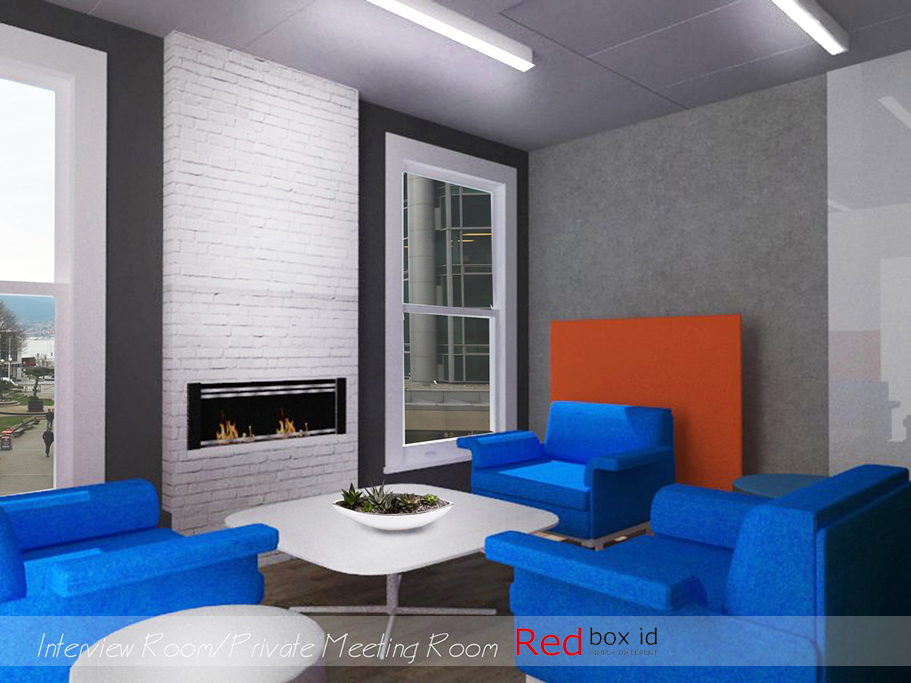 Peeple Office Interview Room Designed by Red Box ID