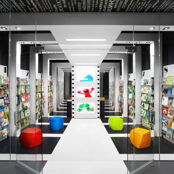 World Kids Books Award Winning Bookstore Designed by Red Box ID