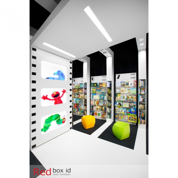 World Kids Books Integrated Emergency Lighting Designed by Red Box ID
