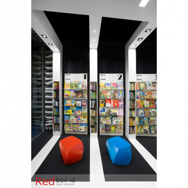 World Kids Books Desiner Furniture Selected by Red Box ID