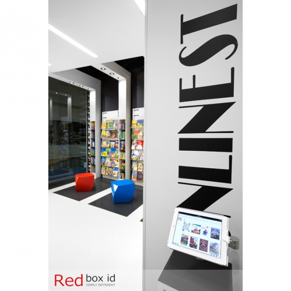 World Kids Books Online Access Station by Red Box ID