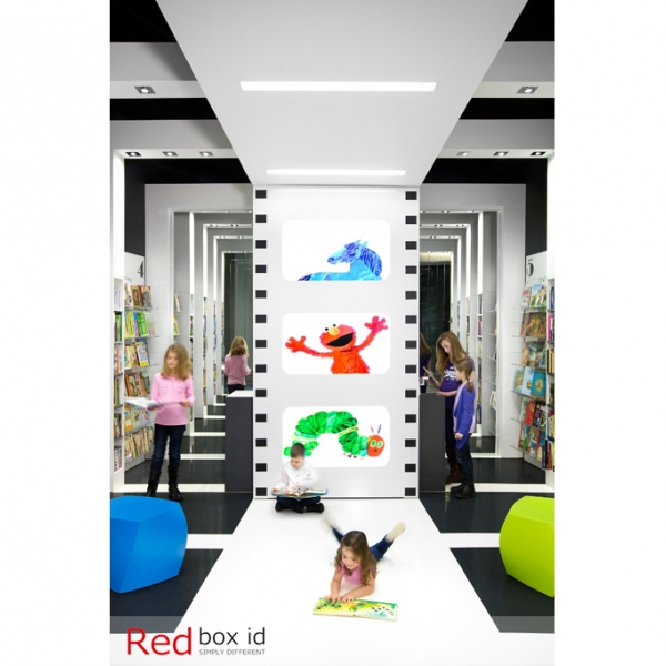 World Kids Books Custom Epoxy Flooring by Red Box ID